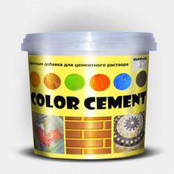 Красящая добавка для цементного раствора (пигмент для бетона)